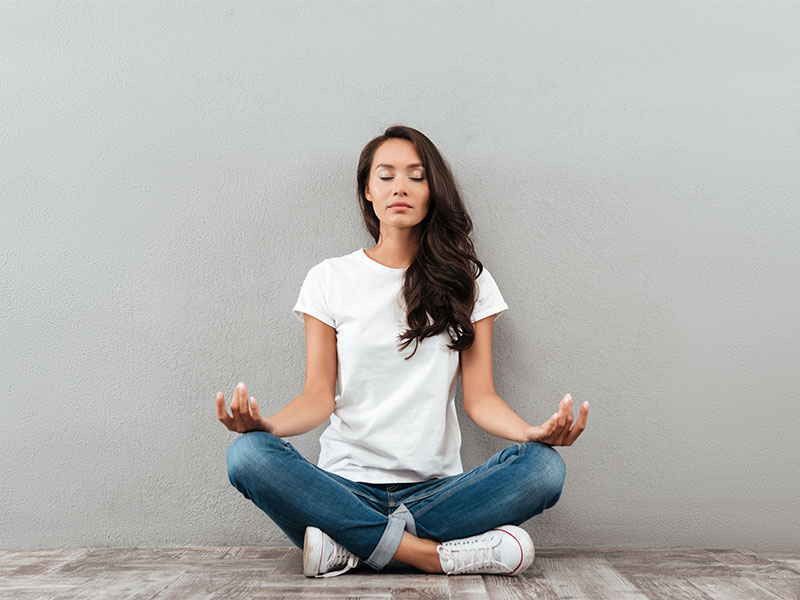 Reduce Anxiety by meditation