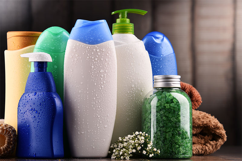 Buying Too Many Natural Shower Products